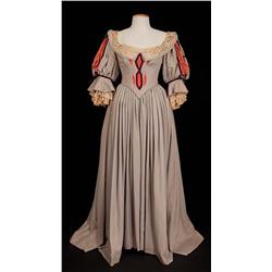 "Linda Darnell ""Amber St. Clair"" tan wool period dress from Forever Amber"