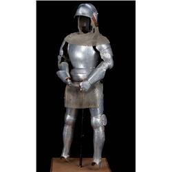 Ingrid Bergman signature full suit of armor with chain mail vest from Joan of Arc