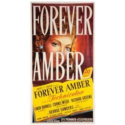 Forever Amber original U.S. three-sheet poster