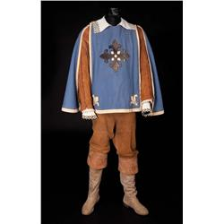 "Gig Young ""Porthos"" cape, (2) shirts, and pantaloons, and boots from The Three Musketeers"