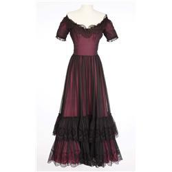 "Rita Hayworth ""Carmen"" signature death scene dress from The Loves of Carmen"