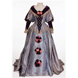 """Blanche Thebom """"Vocalist – Opera Montage"""" blue and pink period gown from The Great Caruso"""