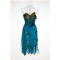 Leslie Caron signature peacock feathered dress designed by Walter Plunkett from An American in Paris