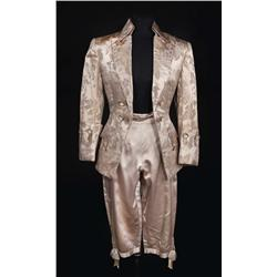 Gene Kelly Pewter brocade period jacket, pantaloons and shoes from Singin' in the Rain