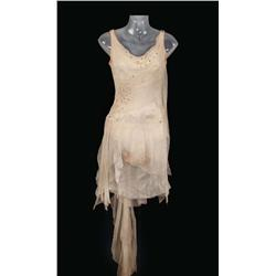 """Cyd Charisse """"Dancer"""" Ivory crepe and chiffon ballerina dress from Singin' in the Rain"""