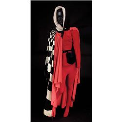 """Kathryn Grayson """"Lilli Vanessi"""" red leotard, belt, hat, tights, and cape from Kiss Me Kate"""