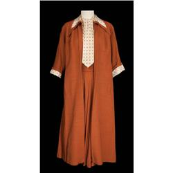 """Lucille Ball """"Tacy Bolton-Collini"""" Brown skirt, blouse and coat from The Long, Long Trailer"""