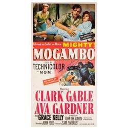 Mogambo original U.S. three-sheet poster