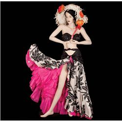 Marilyn Monroe skirt, halter top and hat from There's No Business Like Show Business