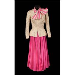 """Mitzi Gaynor """"Katy Donahue"""" pink outfit from There's No Business Like Show Business"""