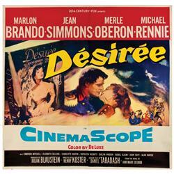 Desiree original U.S. six-sheet poster