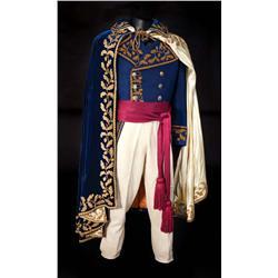 Michael Rennie  Napoleonic style complete formal 4-piece uniform from Desirée