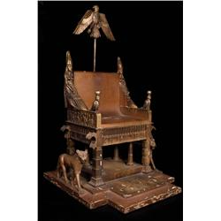 Pharaoh sedan-chair from the 1963 Cleopatra