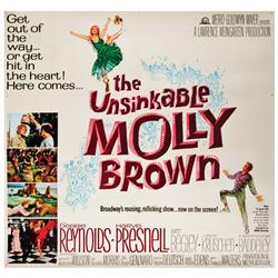 Unsinkable Molly Brown original U.S. six-sheet poster