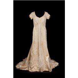 Martita Hunt elaborately beaded silk satin gown from The Unsinkable Molly Brown