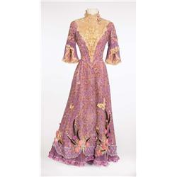 """Debbie Reynolds """"Molly Brown"""" signature lavender lace gown from The Unsinkable Molly Brown"""