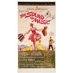 The Sound of Music original roadshow U.S. three-sheet poster