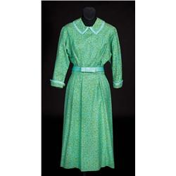"""Julie Andrews """"Maria"""" turquoise and green dress from Sound of Music"""