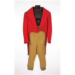 """Peter Bull """"General Bellowes"""" red wool tailcoat & pantaloons from Doctor Dolittle"""