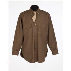 """George C. Scott """"General George S. Patton, Jr."""" military shirt and tie from Patton"""