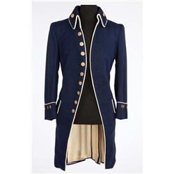 """Mel Gibson """"Fletcher Christian Master's Mate"""" Naval coat from The Bounty (1984)"""