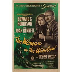 The Woman in the Window original 1944 U.S. one-sheet poster