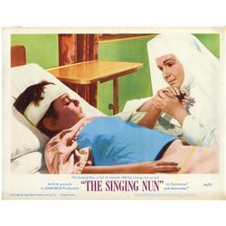 The Singing Nun complete Lobby-Card Set of 8 plus collection of (14) oversize stills