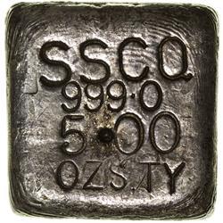 c1900 - Silver Ingot