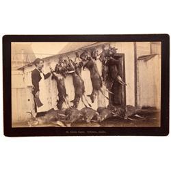 AK - Killisnoo Island,Skagway-Hoonah-Angoon County - 1880s-1890 - Alaska Game Photograph - Mueller C