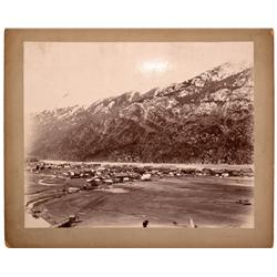 AK - Skagway County,1896-1902 - Dyea, Alaska Photograph - Mueller Collection