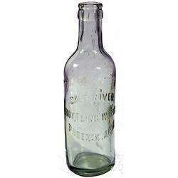 AZ - Phoenix,c1910 - Salt River Bottling Works Bottle