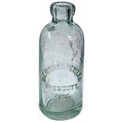 AZ - Prescott,c1905 - Beavers & Heisler Bottle