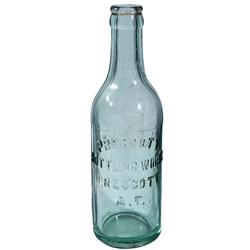 AZ - Prescott,c1910 - Prescott Bottling Works Bottle *Territorial*