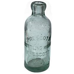 AZ - Prescott,Prescott Bottling Works Bottle *Territorial*