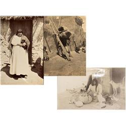 AZ - Reservation,Navajo County - c1900-1910 - Arizona/New Mexico Indian Photos - Mueller Collection