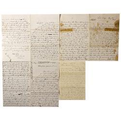 AZ - Salt River,1887-1882 - Pioneer Letters, Salt River *Territorial*
