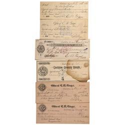 AZ - Tombstone,Cochise County - 1887 - E.B. Gage Collection