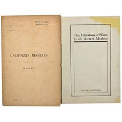 CA - 1866 - California Mineral and Butters Method Booklets