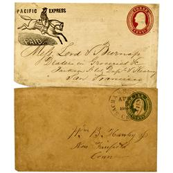 CA - 1857 - Gold Rush Covers - Clint Maish Collection
