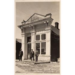 CA - Bodie,Mono County - c1940 - Bodie Bank Building RPC - Mueller Collection
