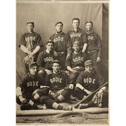 CA - Bodie,Mono County - c1910 - Bodie Baseball Team Photograph