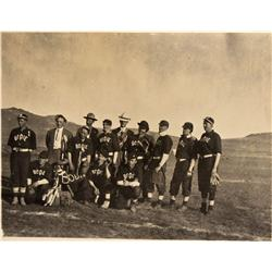 CA - Bodie,Mono County - c1920s - Bodie Baseball Team RPC - Mueller Collection