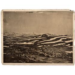 CA - Bodie,Mono County - 1902 - Bodie Bird's Eye View Photograph
