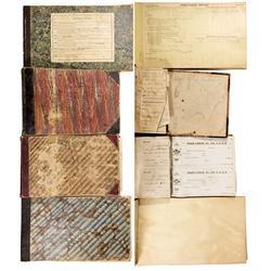 CA - Bodie,Mono County - c1890 - Bodie Fraternal Lodge Receipt Books
