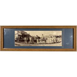 CA - Bodie,Mono County - c1890 - Bodie Horribles Photograph, Framed