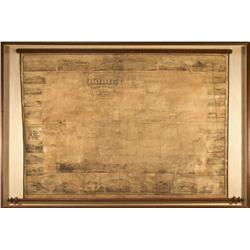 CA - Bodie,Mono County - 1880 - Bodie Mining District Map, Framed