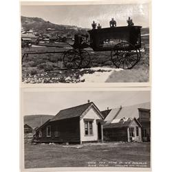 CA - Bodie,Mono County - c1930s-40s - Bodie RPCs By Frasher - Mueller Collection