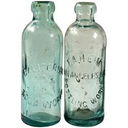 CA - Los Angeles,1880s-1890s - California Hutchinson Sodas
