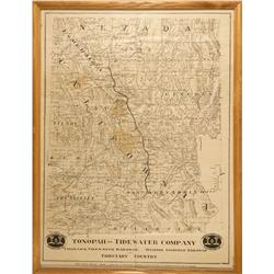 CA - Ludlow,San Bernardino County - Tonopah and Tide Water Company; Tonopah and Tidewater Railroads;