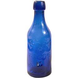 CA - Napa,1870-1885 - Napa Wood's Soda Bottle